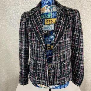 George tweed jacket size 10